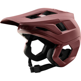 Fox Dropframe Pro Helm Herren chili